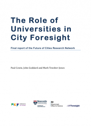 Universities and City Foresight Network Report (2016)